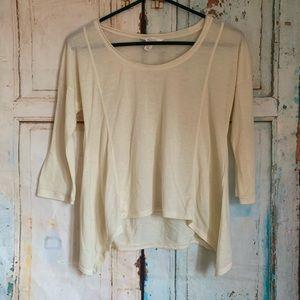 Sun and Shadow blouse